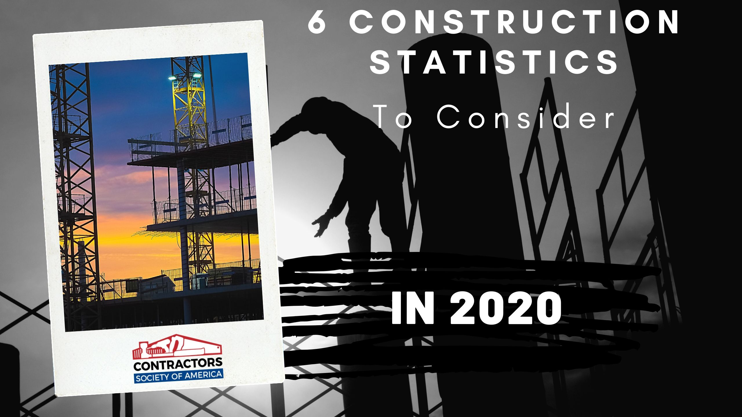 Construction Statistics Cover 2020