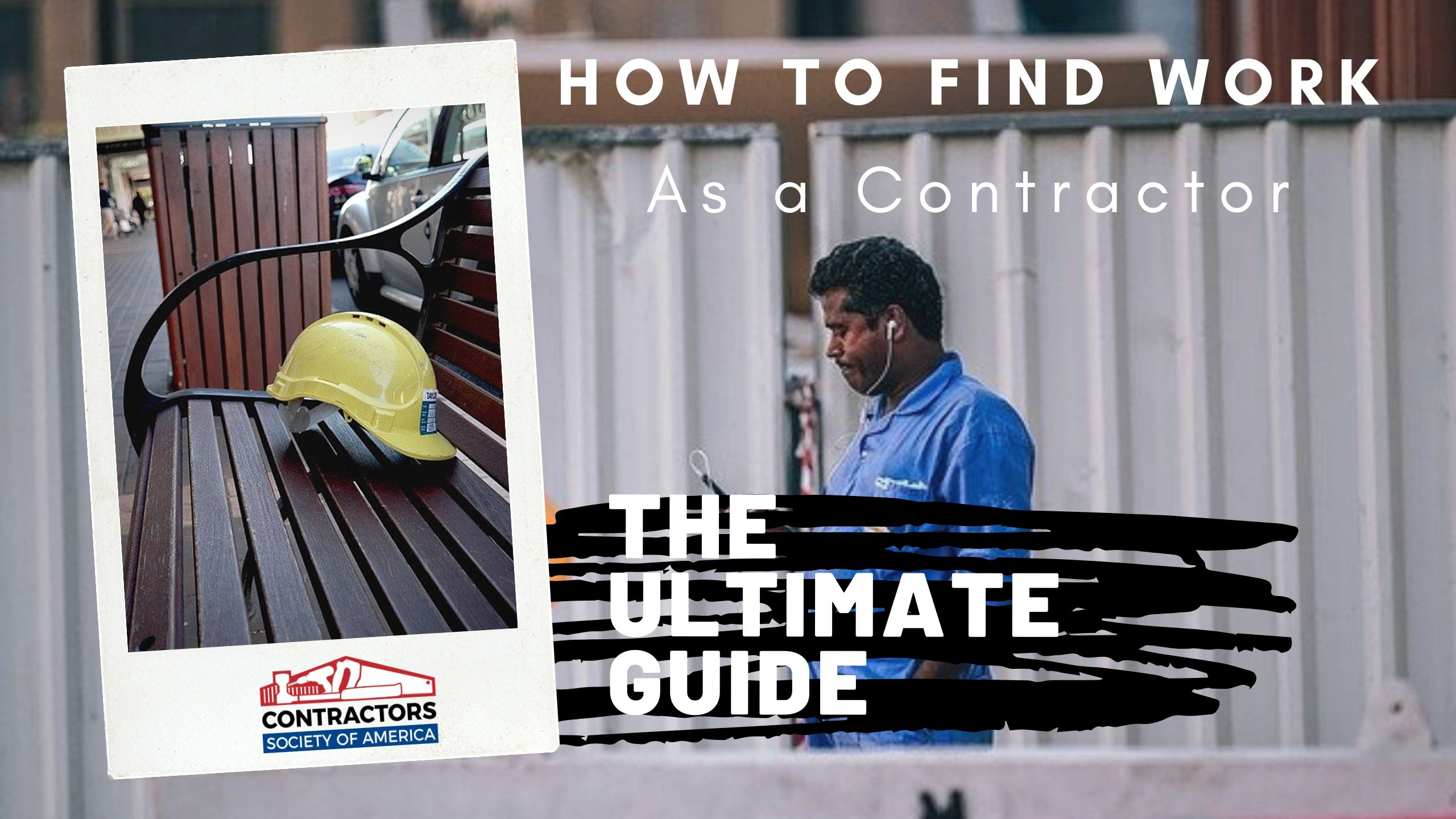 How To Find Work as a Contractor Blog Cover