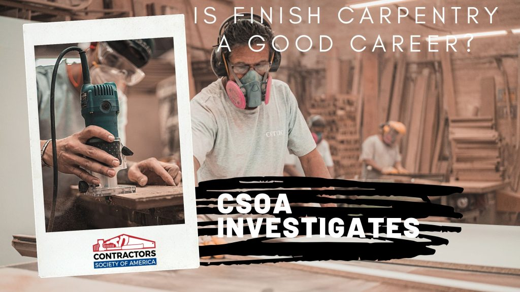 Is Finish Carpentry a Good Career? (Cover)