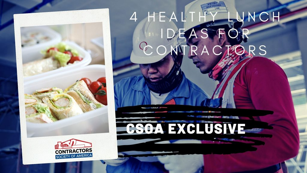 Lunch Ideas for Contractors (Cover)